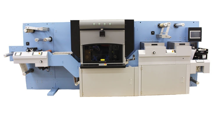 The Spartanics SRL-350 provides semi-rotary diecutting and laser finishing to allow converters flexibility for quick turnaround times.