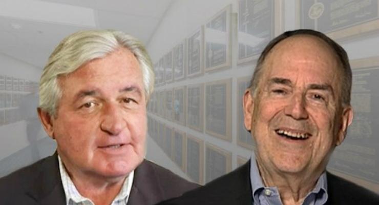 John Abele and Peter Nicholas (Courtesy of Boston Scientific)