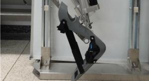 Bio-Inspired Lower-Limb Robotic Exoskeleton for Human Gait Rehab