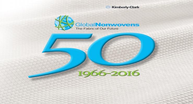 Kimberly-Clark Celebrates 50 Years in Nonwovens