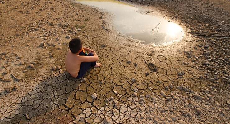 Water shortages could lead to conflicts around the globe.