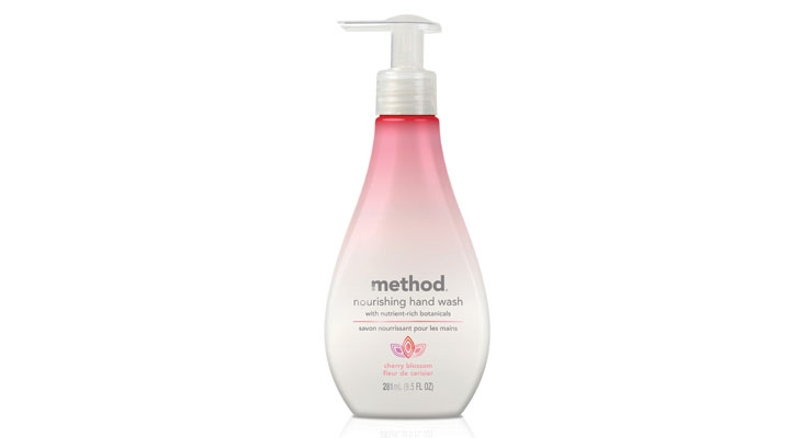 This hand wash from Method provides  skin caring benefits.