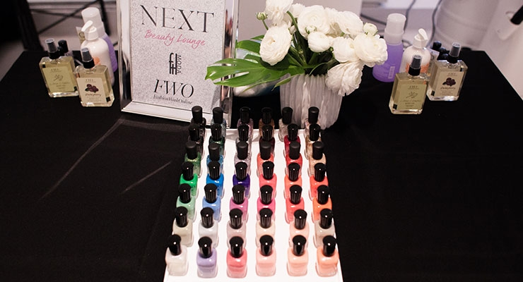 At the Next Artists Beauty Lounge in New York City, FarmHouse Fresh provided manicures, haircuts, blowouts, makeup application, eyebrow grooming, facials and chair massages for guests who included models, influencers and other VIPs.