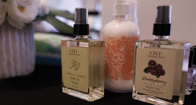 FarmHouse Fresh Pampers  At Beauty Lounge Event