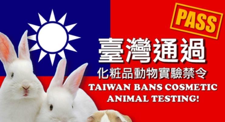 Taiwan Bans Animal Testing