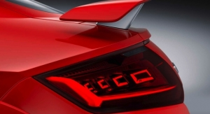 New Audi TT RS with OLED Technology from Osram