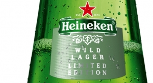 New Heineken label combines three printing techniques