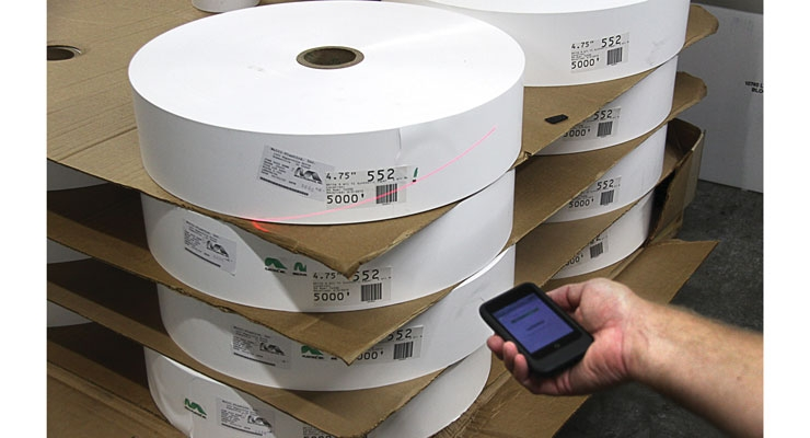 Label Traxx print management systems allow users to track inventory.