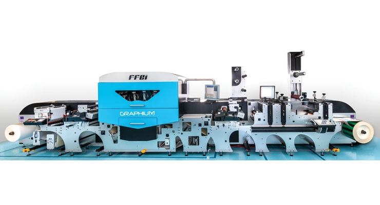 Fujifilm and FFEI's Graphium is built on a flexo press platform.