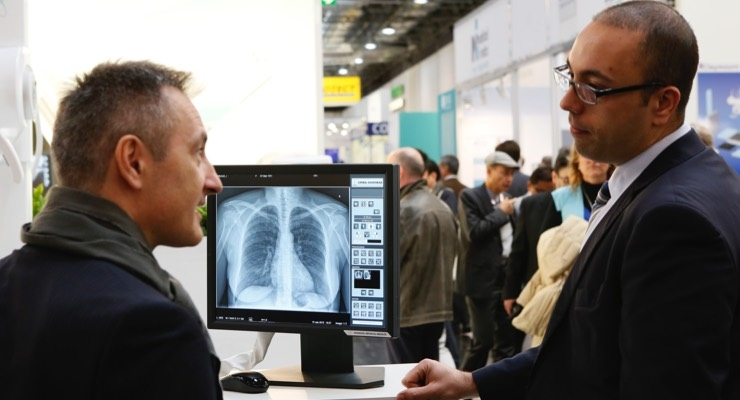 Radiology technologies continue to advance, with enhanced image results and improved clarity. The latest offerings in this sector are on display throughout several halls at Medica.
