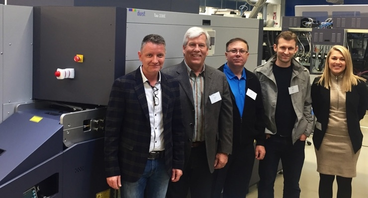 Coast Label goes digital with Durst Tau 330E