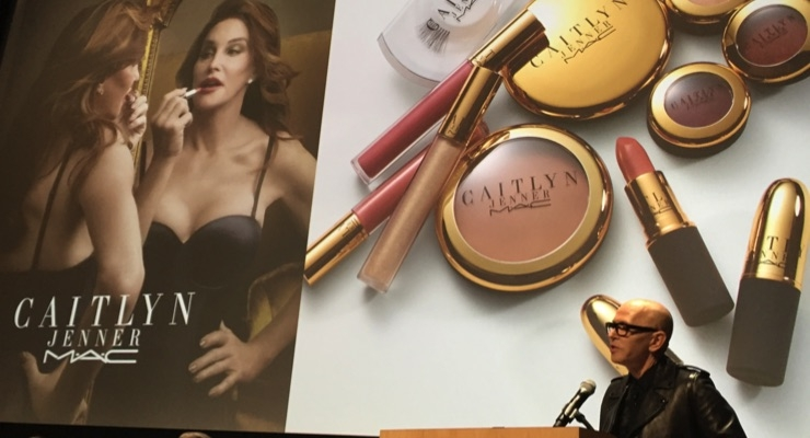 James Gager talks about MAC's collection with Caitlin Jenner