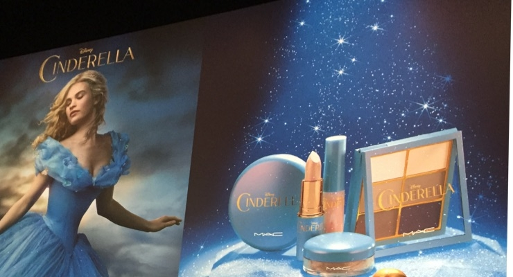 James Gager says MAC's Cinderella collection broke sales records.