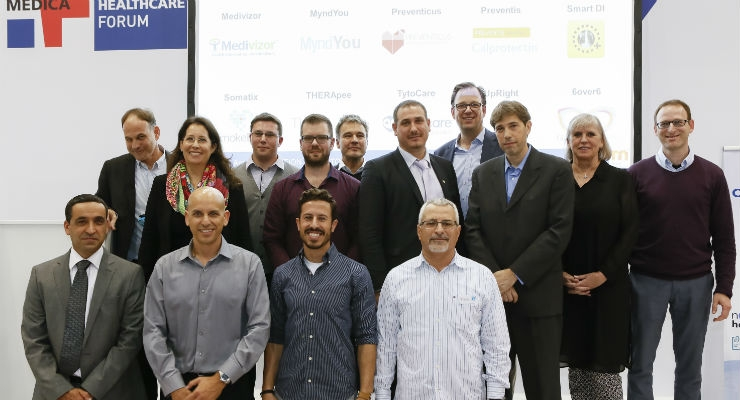 A look at many of the representatives of the app competition teams who participated in this year's contest. For more on the app competition, check out the feature