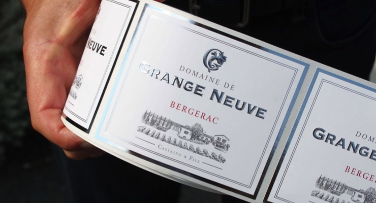 The technology behind Imprimerie Laulan's high-end wine labels