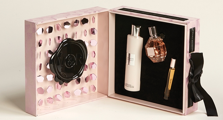 Viktor & Rolf Flowerbomb Sequin Shadow Box for L'Oréal USA