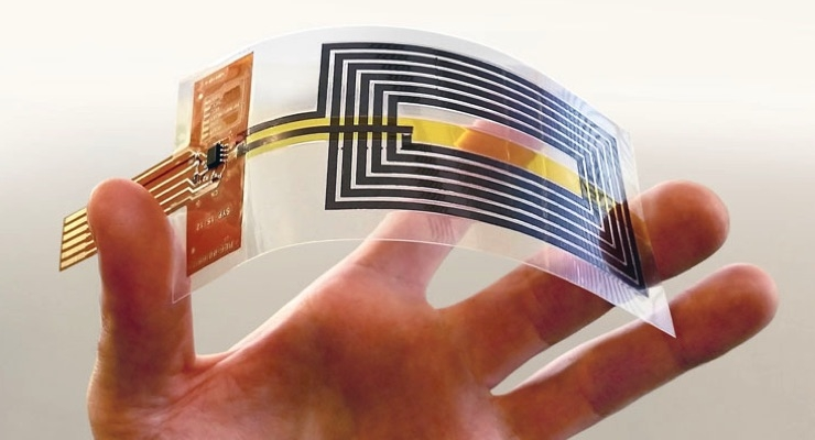 Graphene Enables Fully Flexible NFC Antennas - The