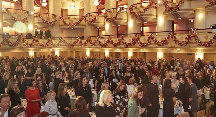4. A Crowded Ballroom: A full house at the Waldorf Astoria for CEW's annual Beauty of Giving Luncheon 2016. Photo by JF Productions.