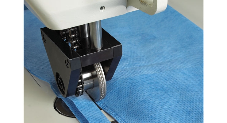 Sonobond Ultrasonics' SeamMaster Ultrasonic Sewing Machine systems can be used for many nonwoven applications.