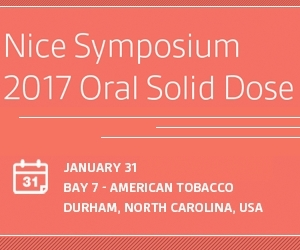 Nice Symposium 2017 Oral Solid Dose
