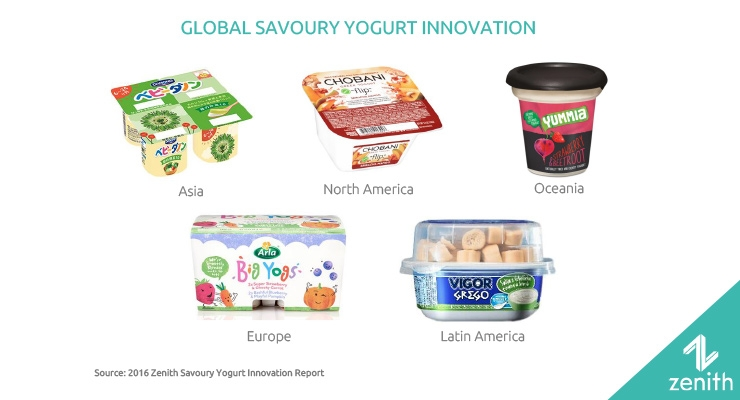 U.S. & Asia Drive Savory Yogurt Innovation
