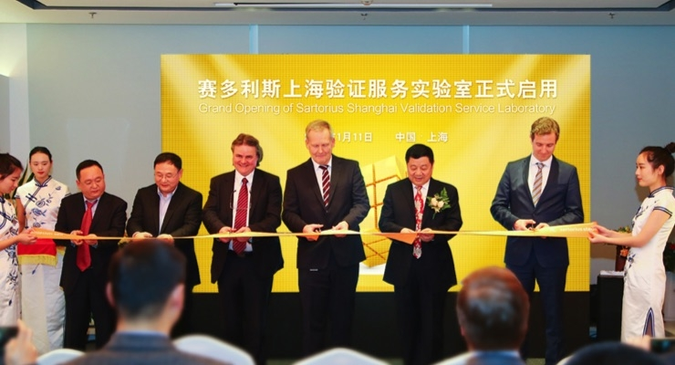 Sartorius Stedim Biotech Opens New Lab in China