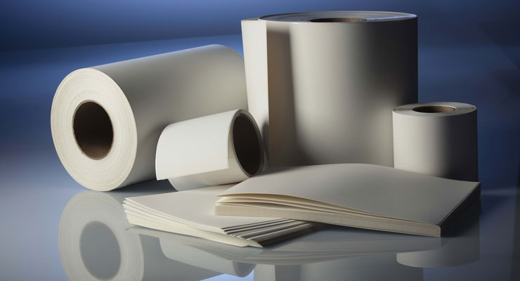 Teslin synthetic paper from PPG