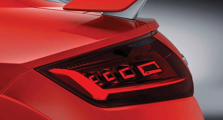 OSRAM's OLED Tail Lights (Photo courtesy of Audi AG)