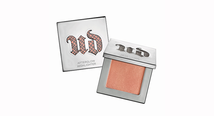 Urban Decay's 2016-2017 Launches To-Date:  The rosy afterglow shows through the UD logo.