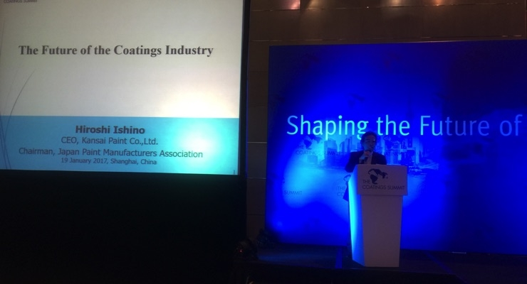 Coatings Summit 2017 Held in Shanghai