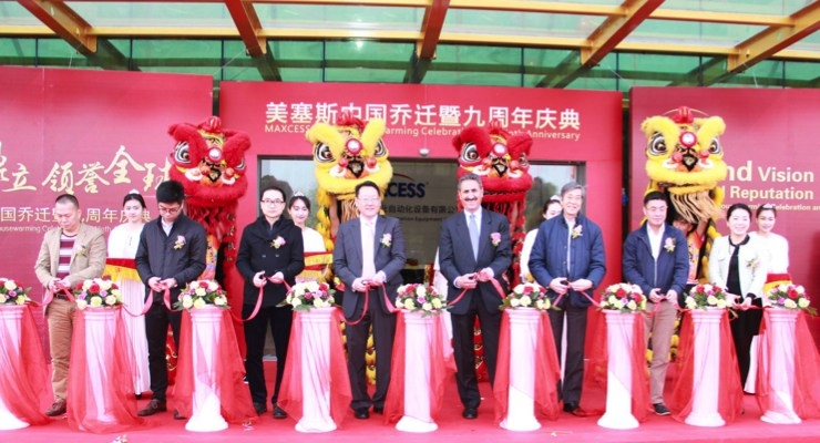 Maxcess Expands in China