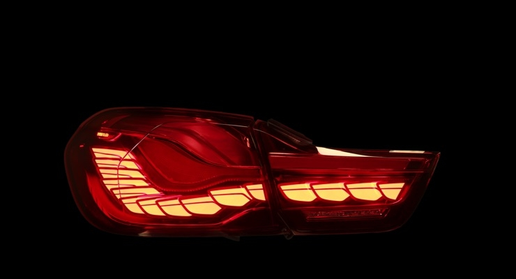 BMW M4 GTS OLED Taillights by OSRAM