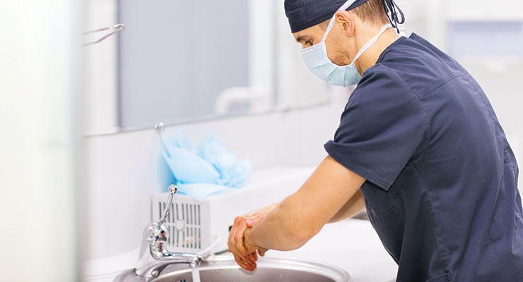 The FDA ruling regarding antibacterial soap does not apply to health care facilities.