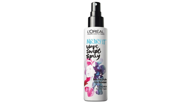 Create air-dried waves with this new spray.