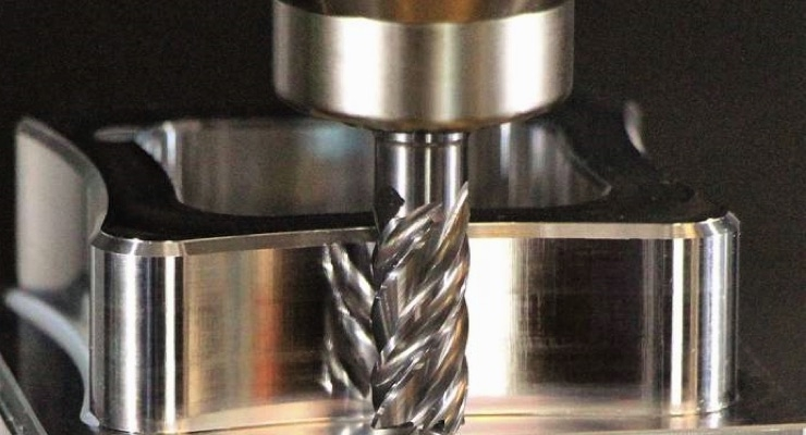 New Emuge End Mill Design Enables Tool to Cut, Polish Simultaneously