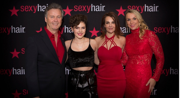 Sexy Hair Celebrates Charity Milestone at