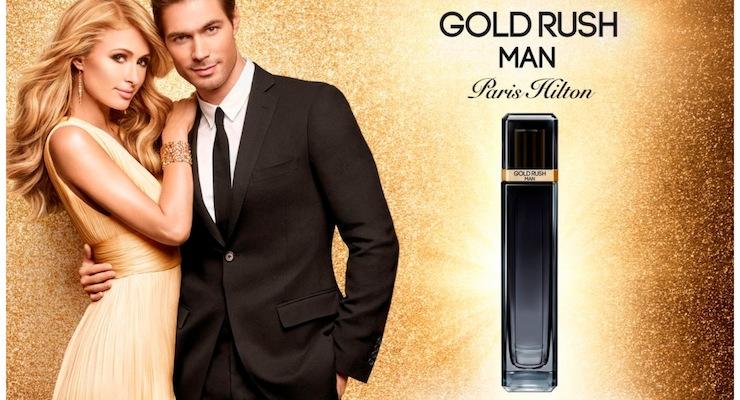 Parlux & Paris Hilton Launch Gold Rush Man