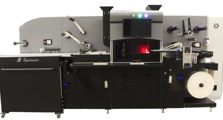 The Spartanics Roll-to-Part Laser Die Cutting System