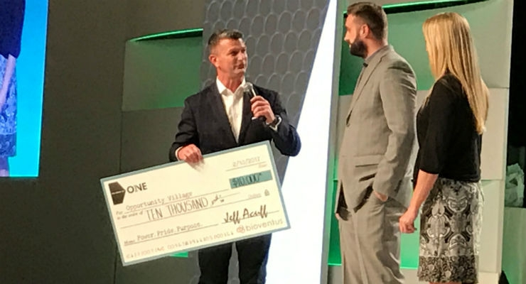 Bioventus Raises $10,000 for Opportunity Village