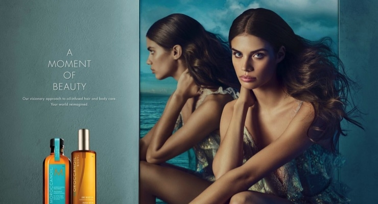 Moroccanoil Signs Supermodel