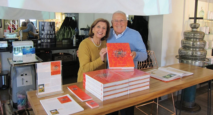 A Great Team. The author credits his wife of 50 years, Laila, for tolerating his unrelenting commitment to this literary project—and for proofreading the entire manuscript! Nadim and Laila Shaath are shown here at a book signing at Intelligent Nutrients in New York City.