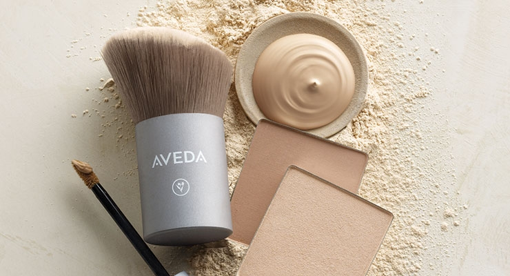 Solstice Bloom is a limited-edition makeup line out now from Aveda.