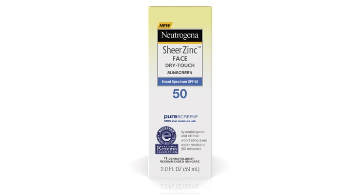 Neutrogena's new specially-formulated sunscreen  for the face contains antioxidants.