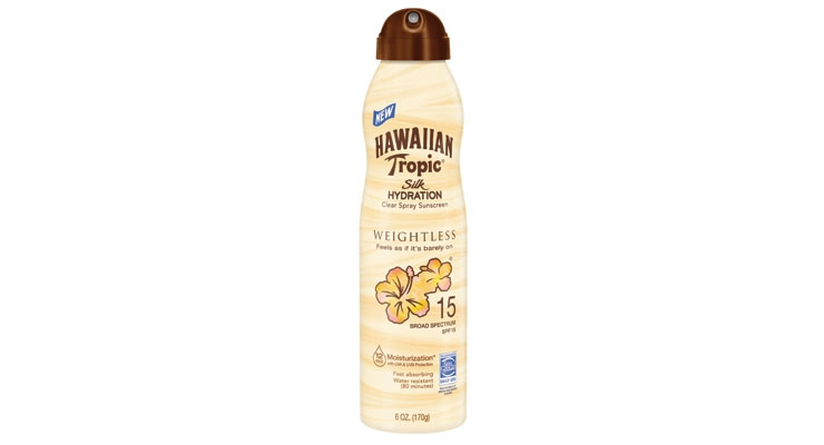 Hawaiian Tropic's Weightless formula provides broad-spectrum protection, despite feeling like it is barely there.