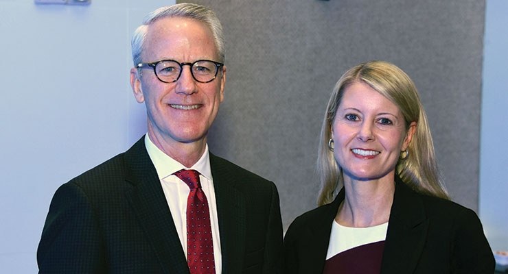 ACI board member Tom O'Brien and Melissa Hockstad, ACI president and CEO. All photos courtesy of ACI.