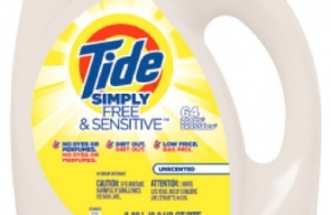 P&G To Launch Tide for Sensitive Skin