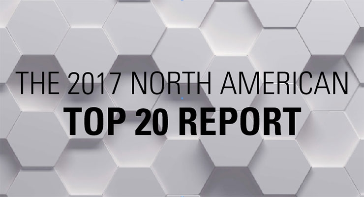 The 2017 North American Top 20 Report