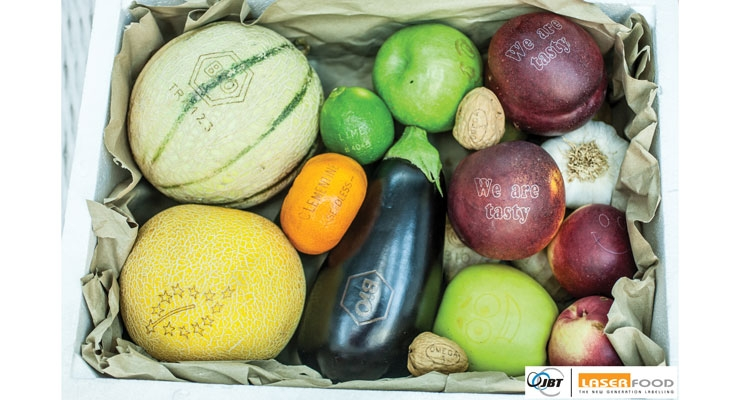 Could laser marking on fruit catch on in Europe?