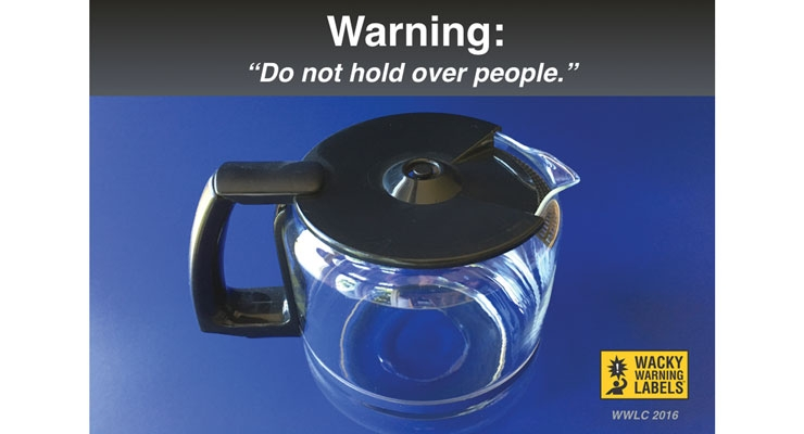 Avoid Death: Wacky warning labels