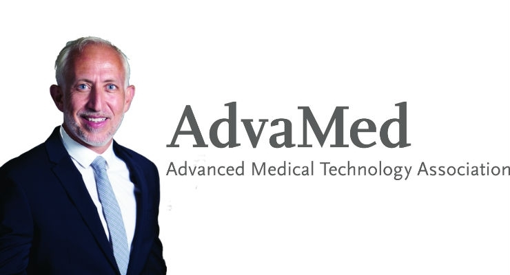 AdvaMed's new chairman of the Board of Directors is Nadim Yared, president and CEO of CVRx.
